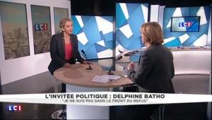 """Delphine Batho : """"Je ne suis pas dans le front du refus"""""""