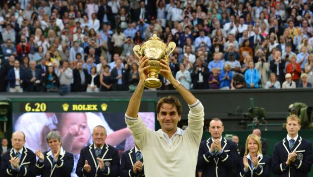Federer remporte son septième Wimbledon.