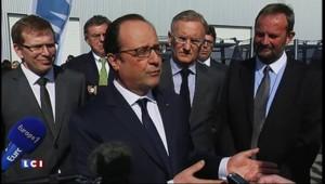 """Hollande : l'euro est à sa """"bonne parité"""" face au dollar"""