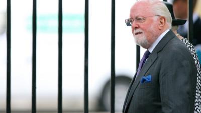 L'acteur et réalisateur britannique Richard Attenborough en août 2007