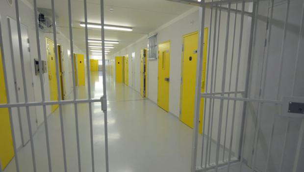 La prison de Réau en Seine-et-Marne.