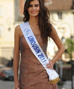 Miss Limousin 2011 - Cindy Letoux - Candidate Election Miss France 2012