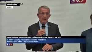 Déraillement de Brétigny : Guillaume Pepy reconnaît la responsabilité de la SNCF