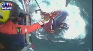 Ecosse : les images d'un sauvetage en mer spectaculaire