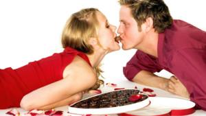 saint-valentin couple chocolat