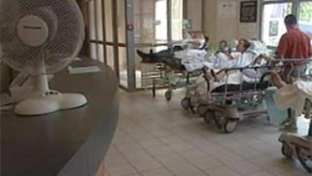 urgences hôpital vieux canicule