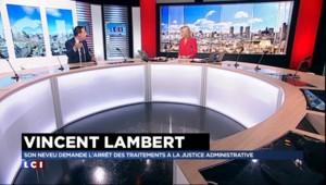 """Affaire Vincent Lambert : """"Ses volontés ne sont pas respectées"""""""