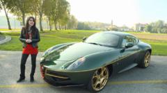 Automoto et Marion Jollès Grosjean vous emmènent à la découverte du célèbre carrossier italien Touring Superleggera ce dimanche 2 novembre 2014.