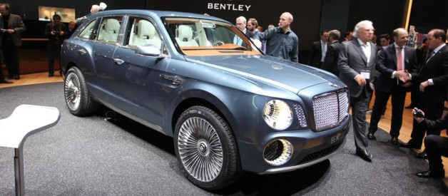 Bentley EXP 9F au Salon de Genve 2012