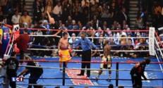 """Boxe : l'Américain, Mayweather remporte """"le combat du siècle"""""""
