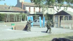 Carcassonne fusillade vidéo