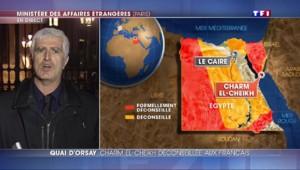 Egypte : Charm el-Cheikh classée en zone orange par le quai d'Orsay