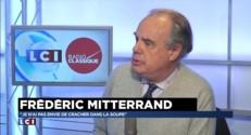"""Frédéric Mitterrand sur Nicolas Sarkozy : """"Je n'ai pas envie de cracher dans la soupe"""""""
