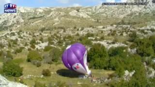 Il tente de descendre en montgolfière dans une cavité de 206m de profondeur