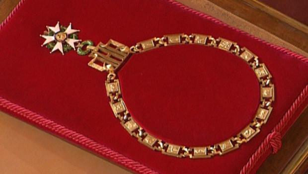 Le collier de grand-croix dans l'ordre de la Légion d'honneur