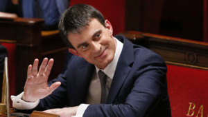 Manuel Valls à l'Assemblée le 8 avril 2014