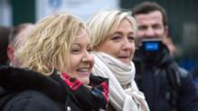 Marine Le Pen et Sophie Montel dans le Doubs.