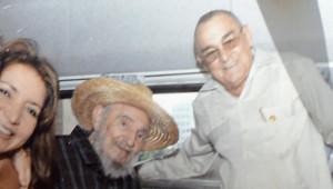 Photo de Fidel Castro (avec le chapeau), supposée prise le 20/10/2012, à La Havane