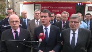 """Valls : """"C'est un choc terrible pour la France"""""""
