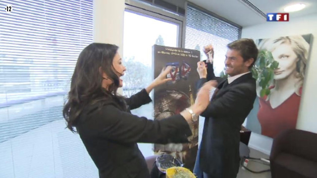 Exclusif : quand Christophe Beaugrand rencontre Jane Badler !