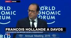 A Davos, François Hollande appelle à une régulation sur Internet