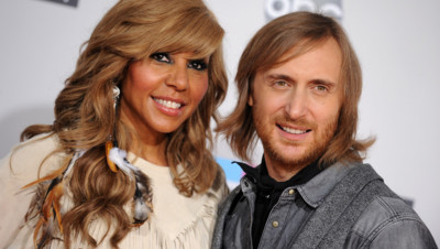 Cathy et David Guetta, le 20 novembre 2011 à Los Angeles.