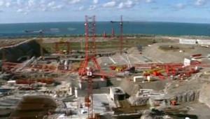 Chantier d'un réacteur nucléaire