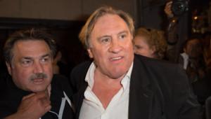 Gérard Depardieu à Cannes pour l'avant-première du film Welcome to New York le 17 mai 2014