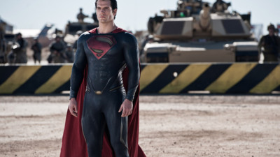 Henry Cavill est Superman dans Man of Steel de Zack Snyder