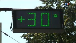 Le 13 heures du 22 juillet 2013 : La France sous une grosse chaleur - 124.96