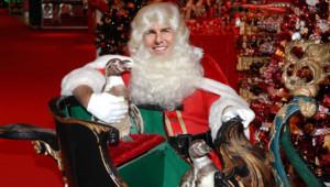 Montage photo Tom Cruise en Père Noël