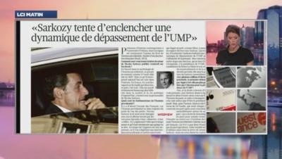 Revue de presse du retour de Nicolas Sarkozy