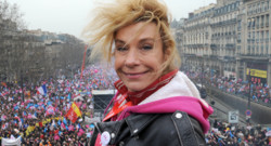Frigide Barjot  La Manif pour tous le 24 mars