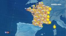 La météo du 31 août 2015 : onze départements en vigilance aux oranges, l'Est sous le soleil