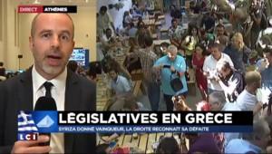 Législatives grecques : Tsipras va maintenant devoir appliquer les mesures du mémorandum