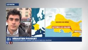 Marseille : un corps retrouvé dans une voiture en feu