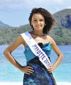 Miss Mayotte 2011 - Aicha Ahmed - Candidate Election Miss France 2012