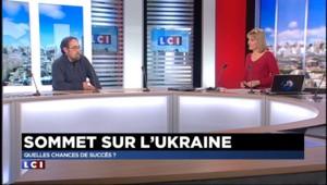 """Sommet de Minsk : """"Je suis très pessimiste"""""""
