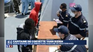 Un patrouilleur français sauve 217 migrants de la noyade