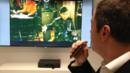 Le numéro un mondial de la télévision a présenté ses nouveautés au CES 2013 à notre correspondant Fabrice Collaro.