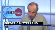 "Frédéric Mitterrand : ""Je déteste le Taubira bashing"""