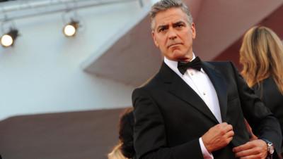 George Clooney à Venise le 28 août 2013