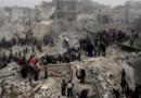 Les décombres d'un quartier populaire d'Alep, frappé par un missile le 18 février 2013.