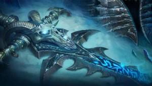 """Capture écran de l'illustration de la page d'accueil du site de """"World of Warcraft"""""""