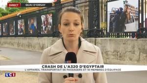 Disparition de l'avion EgyptAir : les familles reçues demain au quai d'Orsay