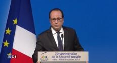 """François Hollande : """"Je ne m'en prendrai jamais aux corps intermédiaires"""""""