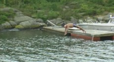 mariage norvège 79 ans natation