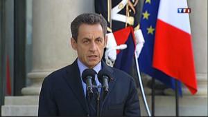 """Sarkozy : """"l'échec de la Grèce serait l'échec de toute l'Europe"""""""