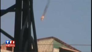 Syrie : les rebelles abattent un hélicoptère de l'armée - vidéo