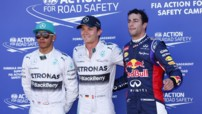 F1 2014 - GP de Monaco - Lewis Hamilton - Nico Rosberg - Daniel Ricciardo